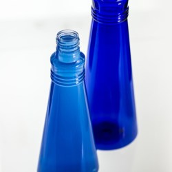 SRPs latest: The cobalt blue SG Collection of moulded PET bottles
