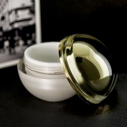 SRPs cosmetic acrylic jar: Doubling the process for added value