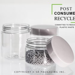 Beauty brands can customize the PCR in their packaging with SRP