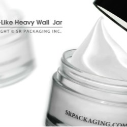 SRPs thick wall PET jar is 100% PCR