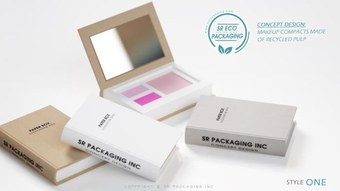 Recycled Pulp is now one of the sustainable materials to be used for SR Packagings Concept Designs