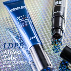LDPE Airless Packaging Tube