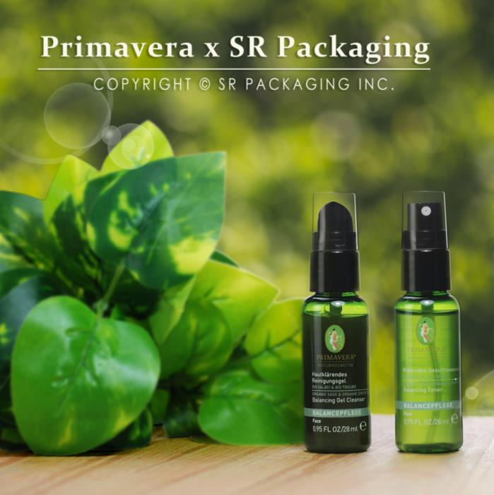 Showcase: Primavera PCR packaging bottle