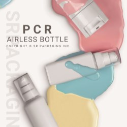 PCR Airless bottle and PCR tube are introduced to visitors of Cosmoprof Asia 2019