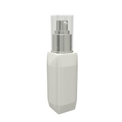 PCR Airless Bottle: The Cube Style