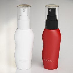 Packaging Concept Design: PCR Airless Bottle Body Fantastic