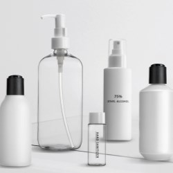 May 06: bottle & dispenser in sets for immediate shipment