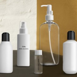May 13: bottle & dispenser in sets for immediate shipment