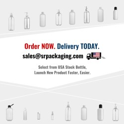 USA Stock Bottles, Sprayers, Pumps, and Closures