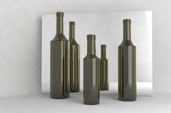 The Ecochic bottle by Vetroelite is ecologically fashionable