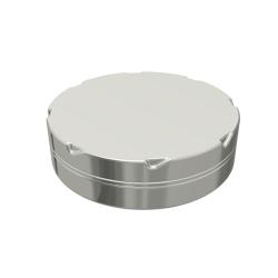 Round Tin Ø70x18.7 Child resistant