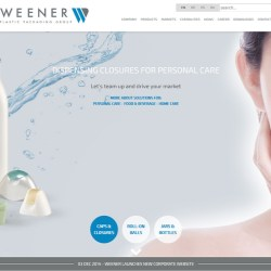 Weener launches its new corporate website