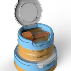 Nutri-Line: Innovative lids and scoops for enhanced hygiene and comfort
