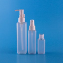 Square PET bottles for Skincare items