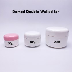 Domed double-wall PP jar collection