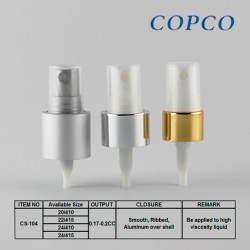 Copcos sprayer for high viscosity liquids