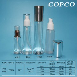 COPCO: A series of waisted PET Bottles