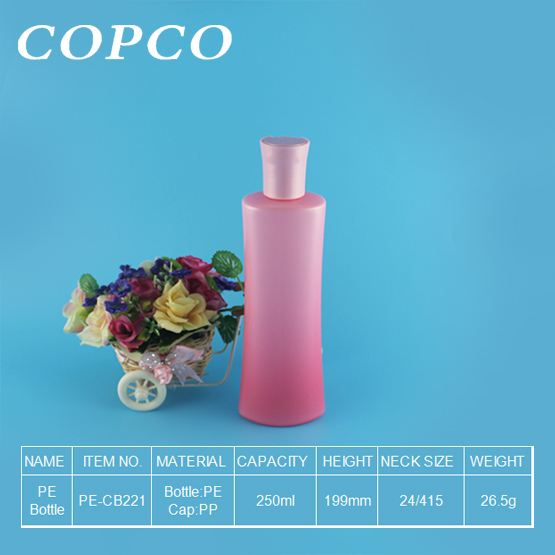 COPCOs Innovative PE bottle with gradient colouring
