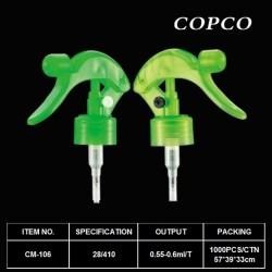 Mini trigger sprayer for easy use