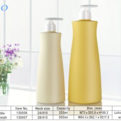 Soft-touch PP Shampoo Bottle from COPCO