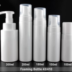 Foaming bottles for cleanser,family hand washing , baby shampoos and body washing