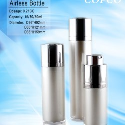 COPCO introduces a luxury line of airless bottles for skin care products