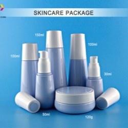 COPCOs PET bottles and jars in water drop shape for skin care products