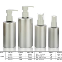 COPCO China introduces silver plastic molded bottles