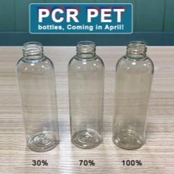 COPCOs PCR PET bottles provide a green option