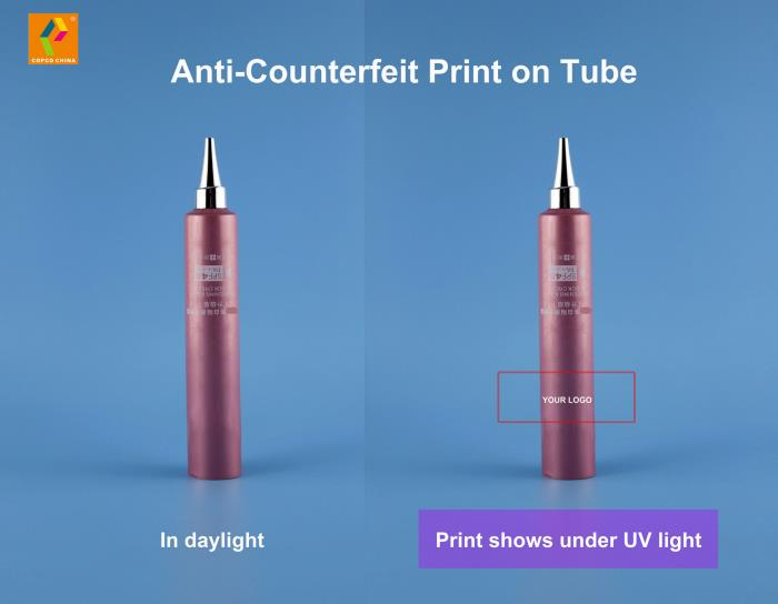 COPCO offers anti-counterfeit tube print service