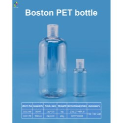 PET Bostons are ideal for make-up remover