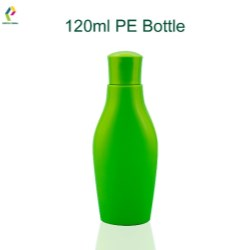 Flexible PE bottle for personal care lines
