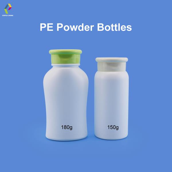 COPCO's powder bottles