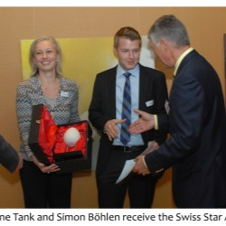 Neopac wins Swiss Star 2013 for child-resistant nozzle tube