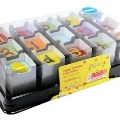 Charpak make birthday cake cubes highly visible for Food Utopia Avana