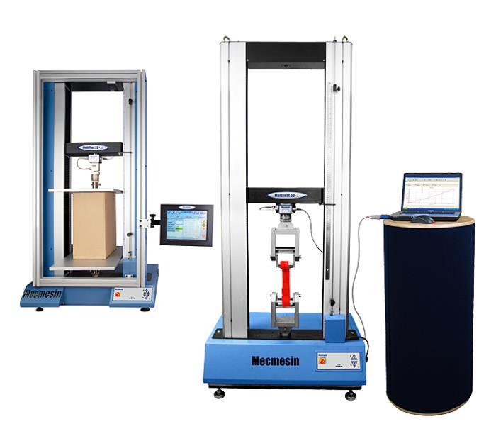 Universal testing machine range (10 - 50 kN)