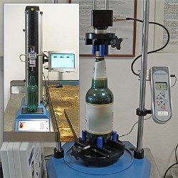 Beer bottles and cans benefit Mecmesins torque and top-load testing