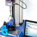 Surgical rubber glove tensile strength testing
