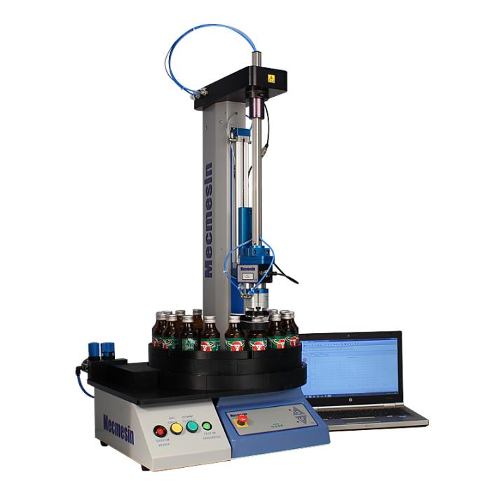 Mecmesin automated bottle closure tester