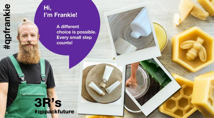 Meet Frankie. He's hip and eco-aware. Just don't call him a hippy