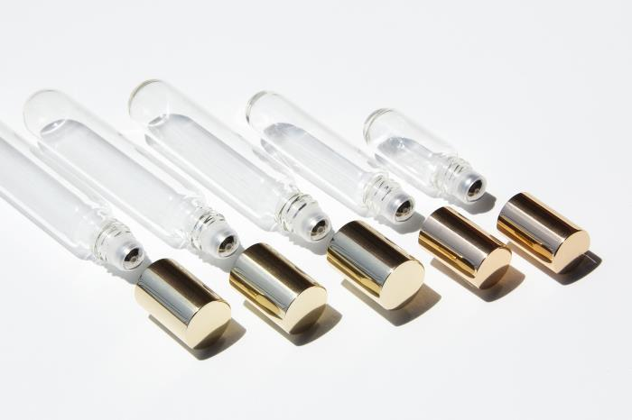 On a roll with Quadpacks fragrance vials