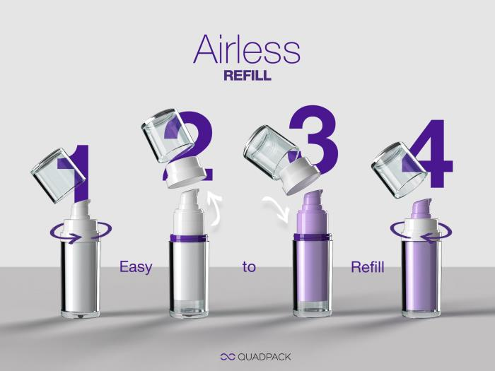 Safe and sustainable…meet Regula Airless Refill!