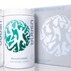 A collaborative effort to beat them all, the 'One World' custom debosed closure for Usana Health Sciences
