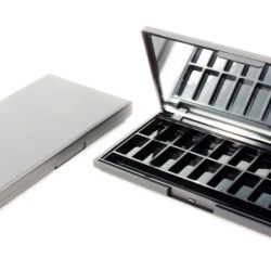 Professional colour collection of cosmetic palettes