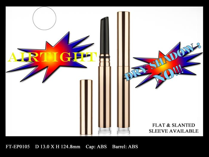 Airtight make-up pen for eyeshadow and eyebrow products