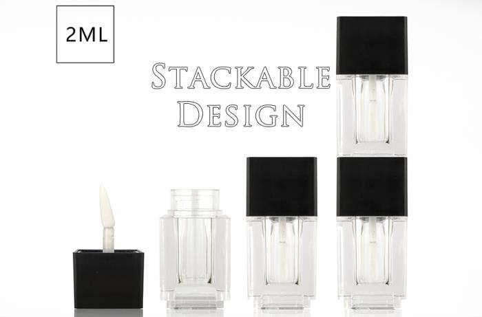 Stackable cosmetic packaging