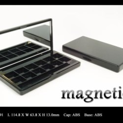 Makeup palette magnetic closure FT-PC1891