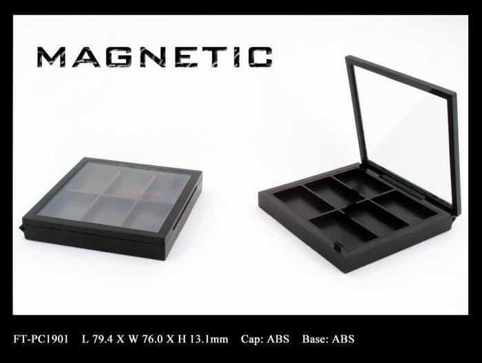 Makeup palette magnetic closure FT-PC1901