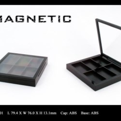 Makeup palette magnetic closure FT-PC1901