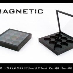 Makeup palette magnetic closure FT-PC1902